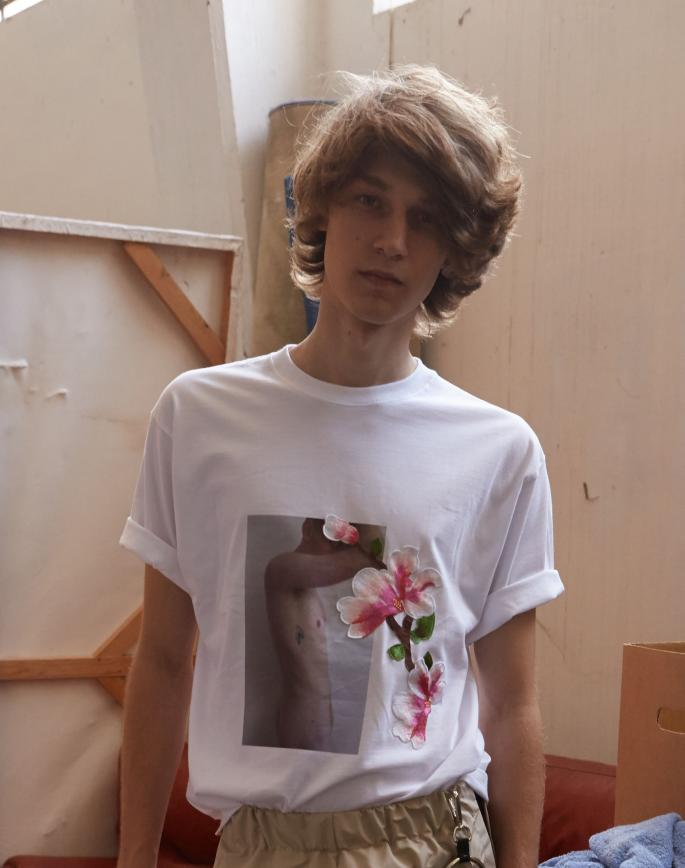T-SHIRT NAKED FLOWER